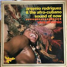 French LP BANG Arsenio Rodriguez & The Afro Cubano Sound Of Now Viva Arsenio