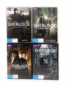 Sherlock Complete Series 1 2 3 4 1-4 + Abominable Bride DVD Set Region 4 R4