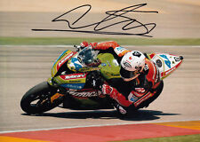David Salom Hand Signed Kawasaki 7x5 Photo WSBK 6.