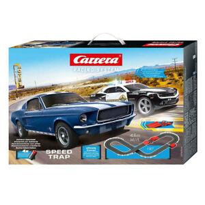Carrera Go 1:43 Slot Car Racing System Speed Trap w/2 Car Vehicle Kids Toy 6y+