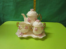 vintage porcelain tea set -D-4