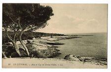 CPA 13 - LE LITTORAL (Bouches du Rhône) - 12. Anse et Cap du Grand Vallat. LL