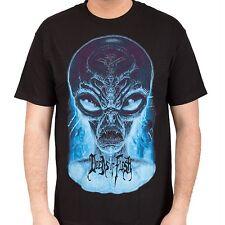 Deeds Of Flesh - Alien Head - Glow In The Dark - T-Shirt - XL - 4.17