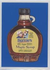 2017 Topps Wacky Packages 50th Anniversary #7 Bernie's Maple Syrup Card 1md