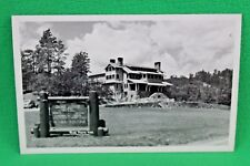 VTG Game Lodge Hotel Saddle Horses Cowboy Guides Rise Photo #101 Postcard A7