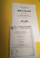 Birth Of The Blues, Sammy Davis jr., arr. George Rhodes, Big Band + Vocal