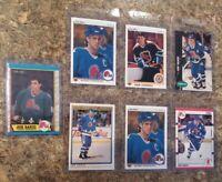 (7) Joe Sakic 1989-90 O-Pee-Chee 1990-91 Upper  Score Premier Rookie card lot RC