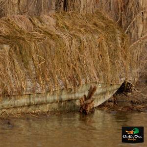 NEW AVERY GREENHEAD GEAR GHG KILLERWEED GRASS CAMO DUCK BOAT BLIND KIT