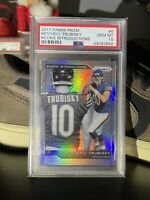2017 Panini Prizm ROOKIE Introductions Mitchell Trubisky PSA 10 GEM MINT 💎🔥