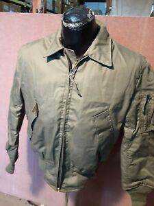 US Military Cold Weather High Temperature Resistant CVC Jacket GI - Small Reg.
