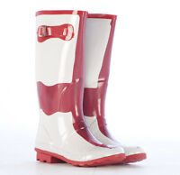 Ladies Wellies Wellys Wellington Festival Rain Rubber Snow Fashion  Boots Size