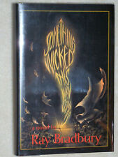 Something Wicked This Way Comes, Ray Bradbury, SIGNED Hardcover, Great Condition