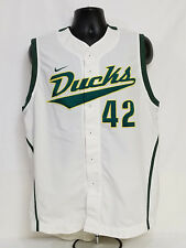 Oregon Fighting Ducks Team Issued Nike Baseball Jersey Vest Men'S 44 L