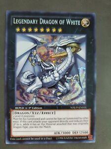 Yu-Gi-Oh! Legendary Dragon of White WSUP-EN051 Prismatic Secret 1st near mint