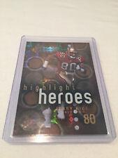 2000 Upper Deck SPx Football Jerry Rice San Francisco 49ers Highlight Heroes #7