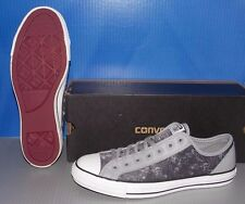 """CONVERSE """"CHUCK TAYLOR"""" CT OVERLAY OX in colors SMOKE GRAY MENS 9 WOMENS 11"""
