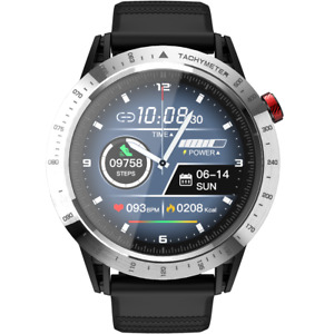 "LOKMAT Comet 1.3""Full Touch Screen Sport Smart Watch Heart Rate Fitness Tracker"