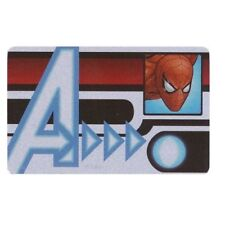 Heroclix Avengers Spider-Man ID Card MVID-009 Convention Exclusive Wizkids NEW