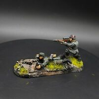 Painted 28mm Bolt Action german 2 man sniper team ww2