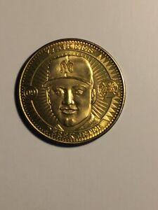 1998 Pinnacle Mint Collection Brass Coin Derek Jeter #09 New York Yankees