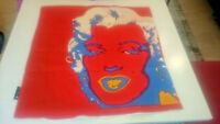 Andy Warhol Bassetti FEDERA CUSCINO COPRICUSCINO Marilyn Monroe divano letto