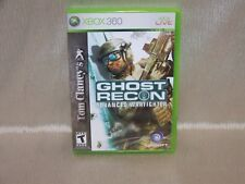 Tom Clancy's Ghost Recon: Advanced Warfighter (XBOX 360) W/ Instructions Manual