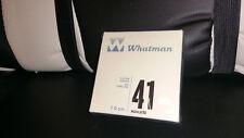 Whatman 41 Ashless Quantitative Filter Paper 20micron 7cm; 100/Box+NEW