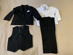 Boys 4 piece suit Size 1