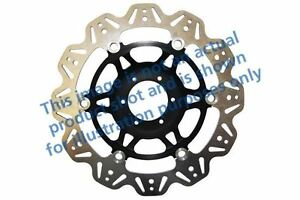 FIT YAMAHA YZF 1000 R Thund 96>01 EBC VR Brake Disc Black Centre Hub Front Right