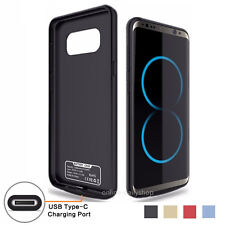 For Samsung Galaxy S8 S9 Plus External Battery Backup Case Charger Power Bank