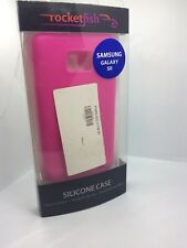 Samaung Galaxy S2 SII Silicon Case Cover Shell Pink Rocketfish Original Genuine