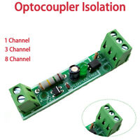 1/3/8 Channel AC 220V Optocoupler Isolation Module Detect Board Adaptive For PLC