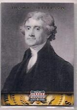 2012 Panini Americana Heroes & Legends Thomas Jefferson