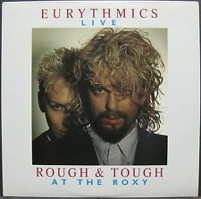 """EURYTHMICS Rough & Tough 1986 Promo Only 12"""" LIVE At The ROXY Annie Lennox"""