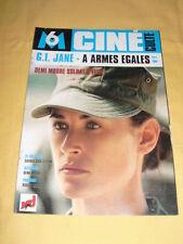 M6 Ciné Culte N°7 G.I. JANE A Armes égales Demi moore Ridley Scott