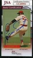 Luis Tiant 1993 Red Sox Jsa Coa Hand Signed Authentic Autograph