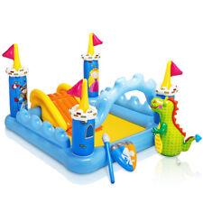 Piscina playcenter castello Intex 57138 bambini giochi scivolo gonfiabile Rotex
