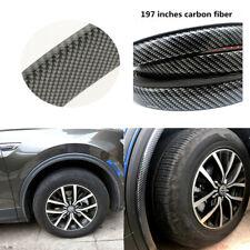 Part Accessories Carbon Fiber Car Wheel Eyebrow Protector Soft Rubber Sticker