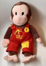 "Gund Universal Studios Teach Me Curious George Plush Toy 16"""