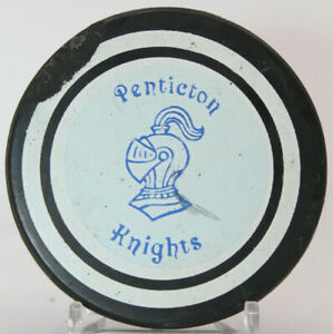 Penticton Knights BCJHL Viceroy Hockey Puck (MMM) with Tim Horton Donuts