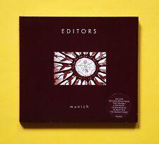 Editors - Munich UK CD single (Kitchenware, 2005) Enhanced CD with video!