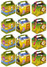 Jungle Animal Paper Lunch Box Going Home Present Picnic Boxes 12x