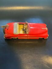 Schuco Tin Wind Up Convertible Red Germany US Zone Original
