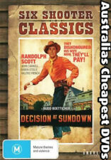 Decision At Sundown DVD NEW, FREE POSTAGE WITHIN AUSTRALIA REGION 4