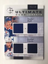 2011-12 Ultimate Collection Taylor Hall Jordan Eberle Ultimate Duos(#27/50)
