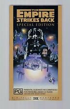 Star Wars - The Empire Strikes Back: Special Edition  - 1997  - VHS