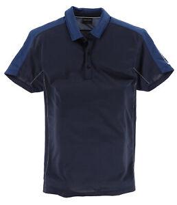 Galvin Green Herren Polo Poloshirt Shirt Gr.L Ventil 8 Serie Golf Navy 113405