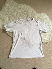 plain white tshirt tee basic bcasual size 14