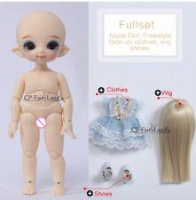 FULL SET Pukifee Cupid Fairyland BJD SD Dolls 1/8 Body Resin Model Baby recast