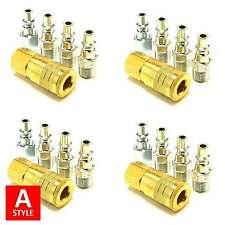 20pc Quick Coupler Set Air Hose Connector Fittings 1/4 NPT Tools Plug Compressor